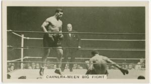 Carnera-Meen big fight.