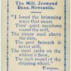 The Mill, Jesmond Dene.