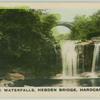 The waterfalls, Hebden Bridge, Hardcastle.