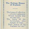 Cottage homes of England.