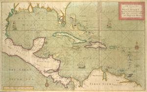 A new and correct large draught of the tradeing part of the WEST INDIES