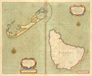 The Iland of Babados ; Island of Bermuda.