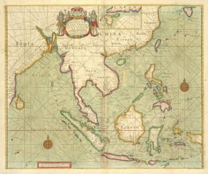 A chart of the eastermost part of the EAST INDIES and CHINA, from Cape Comarine to JAPAN, with all adjacent Islands