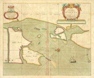 A new mapp of the Island of BOMBAY and SALLSET
