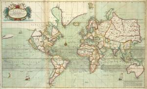 A new and correct Mapp of the WORLD