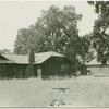 A settler's home and farm building at Durham, California