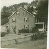 [Side view of a Colonial-style house, Darien.]