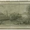 The first meeting between Washington and Rochambeau, the Old Square, Hartford, Conn