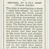 Refusal at a fly jump.
