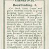 Bookbinding. 3.