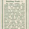 Bottling fruit - 1.