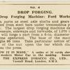 Drop forging.