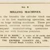 Milling machines.