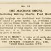 The machine shops.