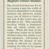 Magneto contact breaker.