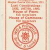 Houses of Parliament - England.