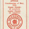 Houses of Parliament - Union of South Africa.