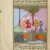 During a journey Salmân meets merchants from the Quraysh tribe and asks them about a new religion.