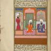 Bilâl al-Habashî, an Ethiopian negro, tells 'Umar ibn al-Khattâb that he wants to go to Damascus.