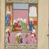Abû Bakr and the Prophet's nephews ask the Sakifîs for the hand of their daughter Barîrah in marriage to Muhammad.