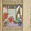 Muhammad discusses Islam with leaders of the Banî Sa'sa'ah tribe, including 'Âmir ibn Sa'sa'ah.