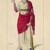 Galla Placidia imperatrice, regente d'Occident, 430. D'ap[res] l'ivorie de La Cathed[rale] de Monza.