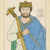 Henry 1er, Roi de France, 1031-60. D'ap, une chronique du temps, a la Bibliot[hèque] Imp[ériale.]