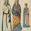 Berengere de Navarre, 2me femme du roi Richard Coeur de Lion. 1190-1210. De l'Espans, pres du Mans. Isabelle d'Angouleme, 3me femme du roi Jean sans-terre. 1200-20. Tombeaux des abbayes, de Fontevrauld. La contesse de Gleichen, chatelaine Allemande. 1260. Et d'Erfurt.