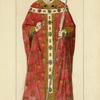 Le pape milieu du XIVe siècle tableau anonyme d'ecole Italienne dessin inédit.