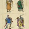Comtes de Hollande et de Flandre. (Leti, teatro Belgico) XVe siècle, costumes seigneuriaux, hommes, Flandre.