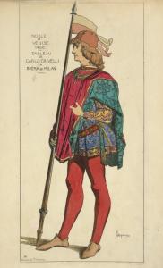 Noble de Venise. 1488. Tableau... Digital ID: 1642552. New York Public Library