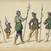 Troupes Francaises, et Espagnoles. 2me moitré du XVIe s[iècle.] 1547. 1562. 1568. 1580.