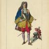 Le maréchal de Catinat. D'après la collection dite de Bonnart.  XVIIe siècle, costumes militaires, infanterie, France.