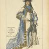 Grand Maitre de l'ordre de St. Georges de Bavière. 1729. Gravure de Mörl.
