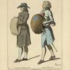 Chevaliers Francais de l'ordre royal militaire de St. Louis. D'apres de Bar. Habit du matin Dec. 1784. Costume Paré 1787.