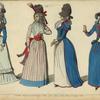 Modes revolutionnaires Paris, Sept. 1789, Mars, Avril, et Aout 1790.