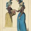 Modes Francaises, de 1791. D'ap[rès] des gravures du temps.