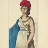 Liberte costume revolutionnaire. Paris. 1793-4. Estampe du temps, de la collec[tion] de l'auteur.