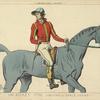 Un jockey. 1796. (Oeuvre de Carle Vernet.) XVIIIe siècle, costumes civils, hommes, Angleterre.