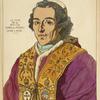 Le Pape Pie VII. 1802-04. D'après un portrait gravé a Rome.