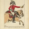 Sous officier des Chevaux-Légers Saxons, rég[iment] Prince-Clément (1805). Dessin de Hesse, a la Bibliot[h]èque Imp[eriale] de Paris.