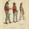 Officiers superieurs. Cavalier. Dragons Anglais. 1814-15. Gravures du temps.