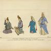 Femmes Turques du XVe-XVIe siècle. Miniatures orientales de la Bibliothèque de Parme. Dessins inédits.