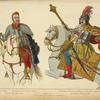 Michel Apafy 1er, prince de Transylvanie, comte des Szekles. Pierre comte de Zriny, magnat Hongrois, surnomme, Pieu de Fer. 1665-75. D'ap[rès] gravures de Sandrart.