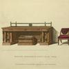 Mahogany sideboard and dining-room chair.