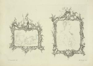 [Two picture frames.]