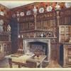 The panelled study at Groombridge Place, Kent. By permission of the Misses Saint.