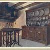 Oak Welsh dresser. The property of Henry Dann, Esq., ca. 1688.