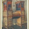 The sisters inlaid double secrétaire and bookcase cabinet: Sheraton, ca. 1800. Property of His Grace Duke of Norfolk, Arundel Castle.