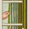 Retaping venetian blinds.